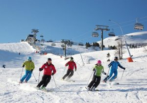 Skiing - hotel Hutter