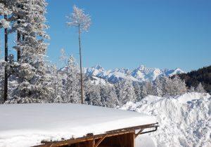 Winterlandschaft - Urlaub am Katschberg - Hotel Hutter