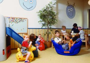 Kinderzimmer im Hotel Hutter