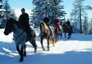 horse riding at Katschberg