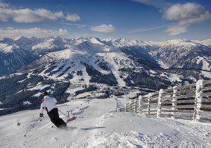 Top Aussicht und Skipisten am Katschberg