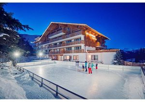 ice rink - Hotel Hutter