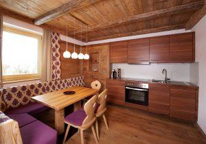 Küche - Hotel Hutter - Suite Rustikal