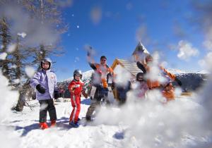 Kinder - Skifahren - Hotel Hutter
