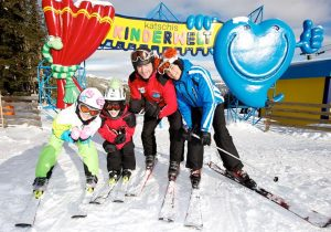 learn skiing at Katschis Kids World
