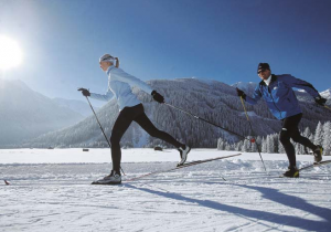 cross-country skiing - Hotel Hutter