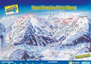 Karte-Katschberg-Hotel Hutter