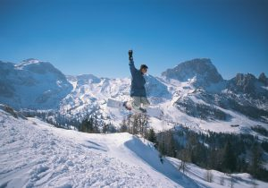 Snowboarder - Skiurlaub im Hotel Hutter