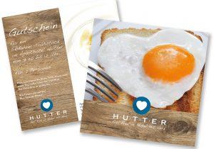 Neues Design unseres Frühstück-Gutscheines