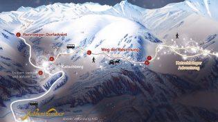 Besinnliches Adventerlebnis auf 1.750 Metern