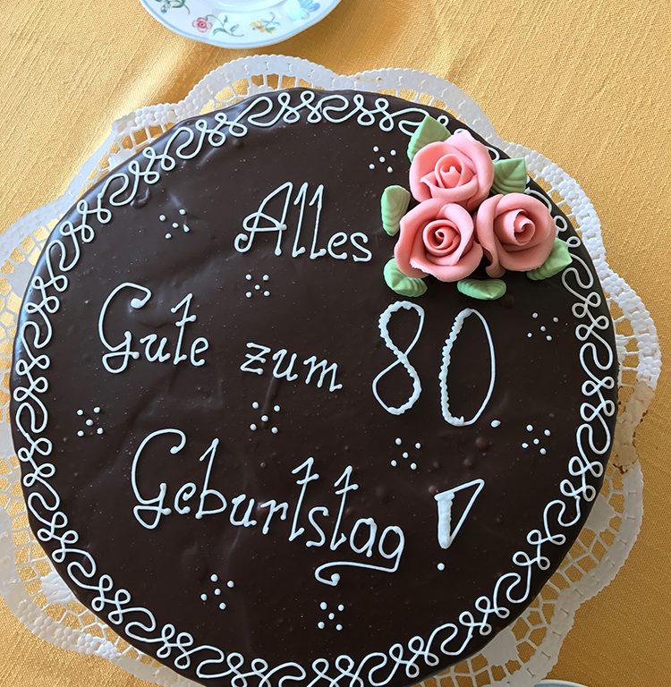 Happy Birthday Helga 80 Geburtstag Aparthotel Hutter